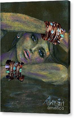 Bracelets  Canvas Print by P J Lewis