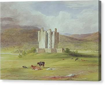 Braemar Castle Canvas Print by James Giles