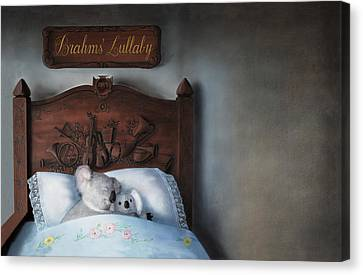 Brahms' Lullaby Canvas Print by Philippe Plouchart