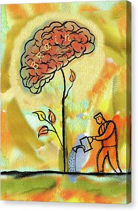 Brain Care Canvas Print
