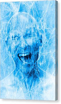 Physical Sensation Canvas Print - Brain Freeze by George Mattei