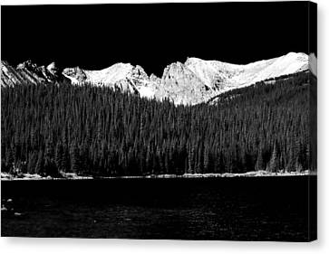 Brainard Lake - Indian Peaks Canvas Print by James BO  Insogna