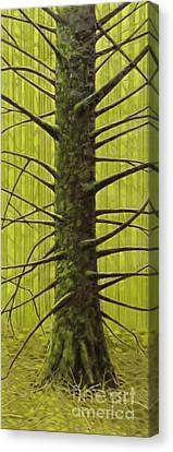 Canvas Print - Branch Monster by Andrea Benson