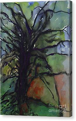 Branching Canvas Print by Leila Atkinson