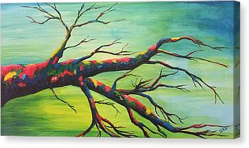 Branching Out In Color Canvas Print
