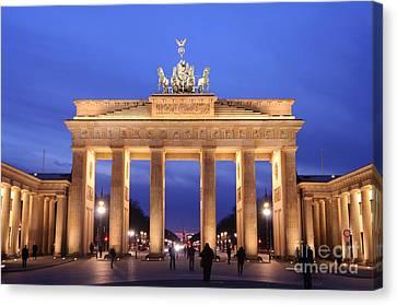 Brandenburg Gate, Berlin Canvas Print by Dr. Rainer Herzog