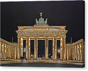 Brandenburg Gate Canvas Print by Joachim G Pinkawa