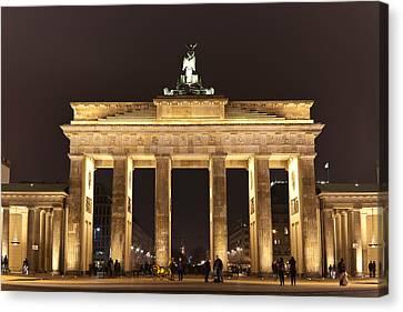 Brandenburg Gate Canvas Print by Mike Reid