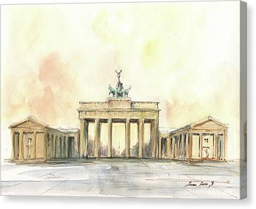 Brandenburger Tor, Berlin Canvas Print