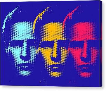 Brando Triple  Canvas Print by Surj LA