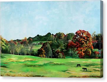 Beaver Valley Canvas Print