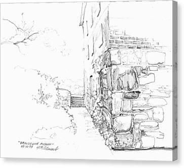 Brandywine Path Canvas Print by John Norman Stewart