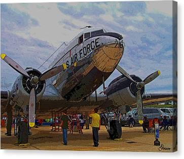 Branson Airshow 2009 Canvas Print