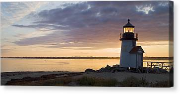 Brant Point Dawn - Nantucket Canvas Print by Henry Krauzyk