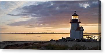 Brant Point Dawn - Nantucket Canvas Print by Henry Krauzyk