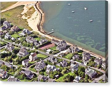 Brant Point House Nantucket Island 4 Canvas Print