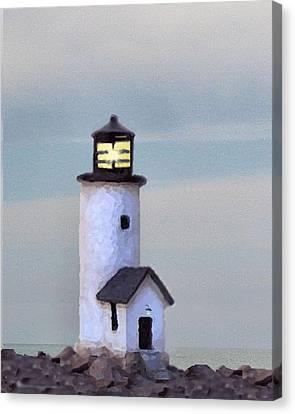 Brant Point Impression Canvas Print