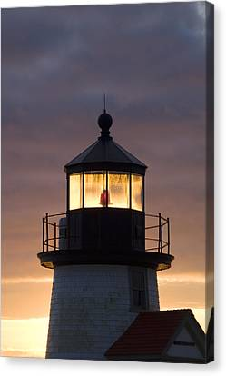 Brant Point Lanthorn - Nantucket Canvas Print by Henry Krauzyk