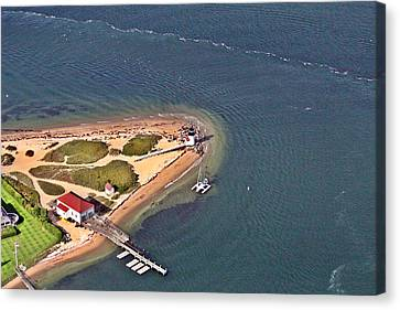 Brant Point Light House Nantucket Island 4 Canvas Print