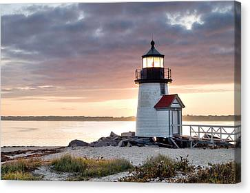 Brant Point Light Nantucket Massachusetts Canvas Print