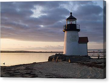 Brant Point Light Number 1 Nantucket Canvas Print