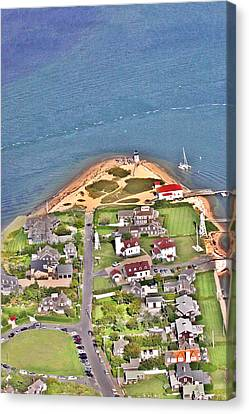 Brant Point Nantucket Island Canvas Print