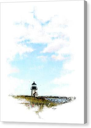 Brant Point, Nantucket Canvas Print by James Higgins