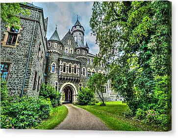 Canvas Print featuring the photograph Braunfels Castle by David Morefield