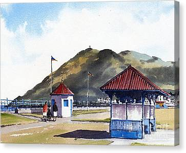 Bray Esplanade, Wicklow Canvas Print