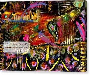 Brazilian Festival Canvas Print by Angela L Walker