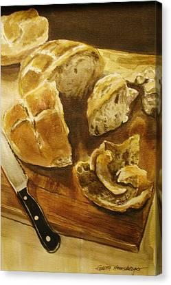 Bread Board Canvas Print