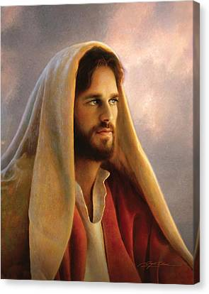 Red Eye Canvas Print - Bread Of Life by Greg Olsen