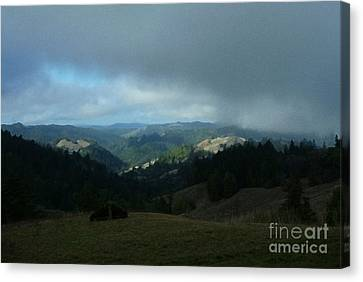 Break In The Storm Canvas Print by JoAnn SkyWatcher