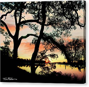 Break Of Dawn Canvas Print