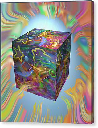 Break On Through Canvas Print by Kevin Caudill