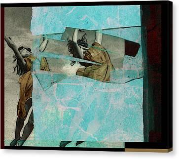 Break The Sky Canvas Print by Adam Kissel