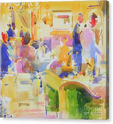 Kennedy Leaving Hotel Carlyle CANVAS John F Art Print Poster