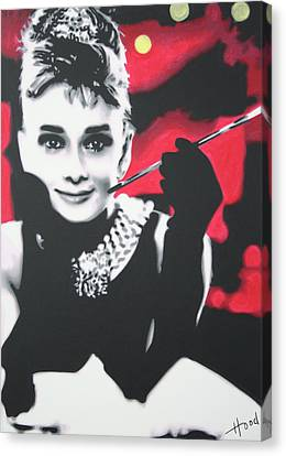 Breakfast At Tiffannys Canvas Print