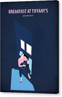 Breakfast At Tiffany's Canvas Print by Fraulein Fisher