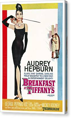 Breakfast At Tiffany's Lobby Poster  1961 Canvas Print by Daniel Hagerman
