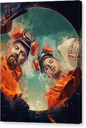 Breaking Bad  Canvas Print by Afterdarkness