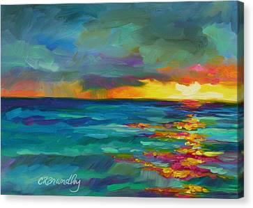 Breaking Light Canvas Print by Chris Brandley