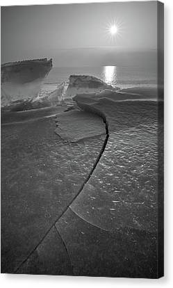 Canvas Print featuring the photograph Breaking Point by Davorin Mance