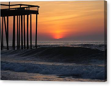 Breaking Sunrise Canvas Print