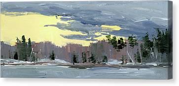 Breaking Through Canvas Print by Mary Byrom