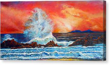 Canvas Print - Breaking Wave by Michael Durst