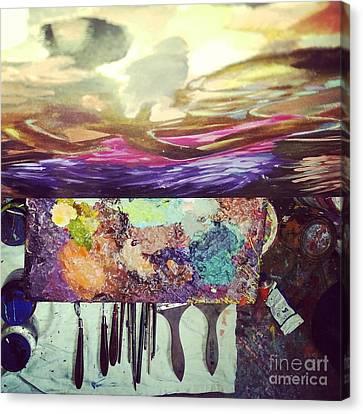 Breaktime Canvas Print by Kegya Art Gallery