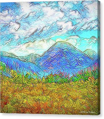 Breath Of Autumn - Colorado Front Range Mountains Canvas Print by Joel Bruce Wallach