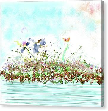 Breath Of Fresh Air Canvas Print by Angela A Stanton