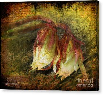 Breath Of Life Canvas Print by Rhonda Strickland